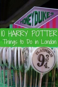 10 Harry Potter Things to Do in London for films and book fans. This list and video show you the best Harry Potter activities in London.
