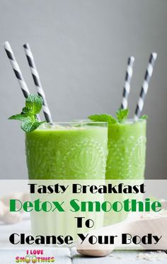 Simple Green Smoothies That Actually Taste Great Detox Smoothie Week Detox Diet, Detox Diet Drinks, Detox Diet Plan, Detox Foods, Detox Your Liver, Liver Detox Cleanse, Cleanse Your Body, Stomach Cleanse, Natural Detox Cleanse