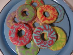 Gluten Free Party Ring Cookies