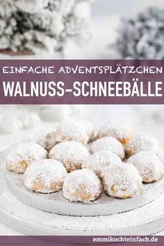 Kekse Rezepte: Walnuss Schneebälle & www.emmikochteinf& Biscuit Recipes: Walnut Snowballs & www.emmikochteinf & The post Biscuit recipes: walnut snowballs & www.emmikochtinf & appeared first on Pink Unicorn. Cookie Recipes, Snack Recipes, Dessert Recipes, Pumpkin Recipes, Cupcake Recipes, Pasta Recipes, Crockpot Recipes, Cinnamon Cream Cheeses, Desert Recipes