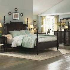 Glen Cove Bedroom - traditional - bedroom - Legacy Classic-Sherwin Williams Willow Tree