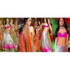 $ 187 Alia Bhatt Radha Song Lehenga Choli from Radha Song of SOTY with FREE shipping and FREE stitching option.