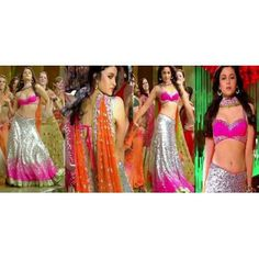 $ 187 Alia Bhatt Radha Song Lehenga Choli from Radha Song of SOTY with FREE shipping and FREE stitching option.