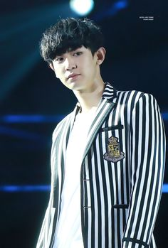 Chanyeol - 160424 2016 K-Pop Top Group Concert Credit: Now and Then.