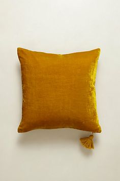 Velvet Silvi Pillow #Anthropologie #PinToWin