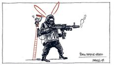Homenaje de Manel Fontdevila a #ChalieHebdo #JeSuisCharlie