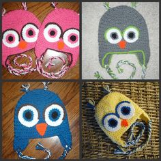 What a Hoot these Owl Hats are :)
