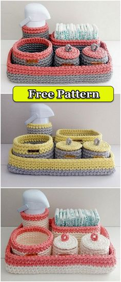 Latest And Unique Crochet Free Patterns – DIY Rustics Latest And Unique Crochet Free Patterns – DIY Rustics,deckchen Wonderful Crochet Basket Pattern Related posts:Search out this list of amazing free crochet kitchen patterns. Unique Crochet, Cute Crochet, Easy Crochet, Crochet Baby, Crochet Things, Crotchet, Crochet Basket Pattern, Afghan Crochet Patterns, Crochet Baskets
