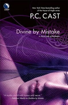 Divine by Mistake By PC Cast This is book about a spirited teacher who is switched with a version of herself in a fantasy alternate-reality, where she has to fight off mythical creatures while trying to find her way home. If you like unique, geeky, page turners you might enjoy this book.