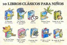 Los mejores libros infantiles clásicos.