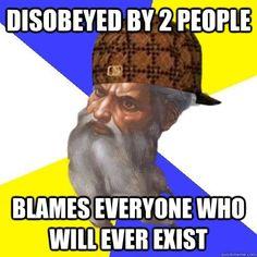 Religion... Bahahaha!