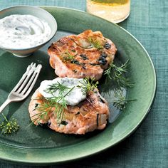 Salmon and Spinach Cakes