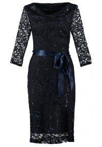 Young Couture by Barbara Schwarzer - Cocktailkleid / festliches Kleid - navy