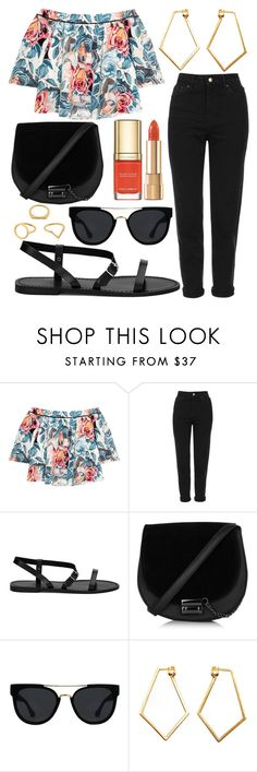 """""""Untitled #632"""" by daimy-style ❤ liked on Polyvore featuring Elizabeth and James, Topshop, Quay, Dolce&Gabbana, Dutch Basics and Kenzo"""