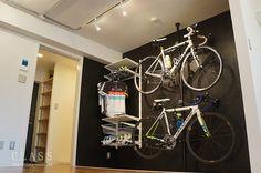 部屋に自転車   自転車と一緒に住みたいなら ...