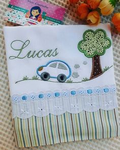 Applique Patterns, Applique Designs, Embroidery Applique, Machine Embroidery Designs, Burp Rags, Burp Cloths, Baby Sheets, Baby Sewing, Crochet