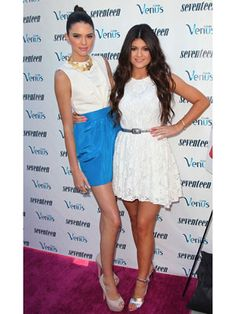 September cover stars Kendall and Kylie Jenner at their Seventeen party!