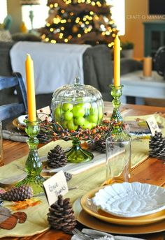 A Warm and Rich Thanksgiving Tablescape -