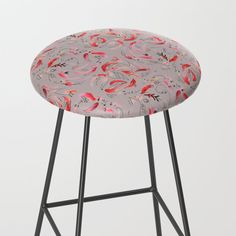 Get this adorable bar stool in the frisky Calvin print from Pinto & Co. Bar Stools, Table, Furniture, Design, Home Decor, Homemade Home Decor, Bar Stool, Tables