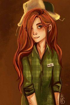 Wendy (Gravity Falls) by nastjastark
