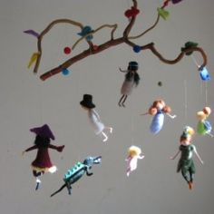 Peter Pan mobile from Zusana at Etsy