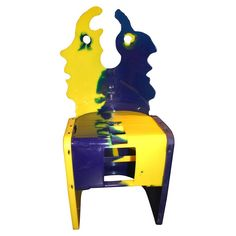 "gaetano pesce | Nobody's Perfect"" Chair by Gaetano Pesce at 1stdibs"