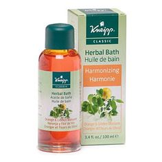 Kneipp Herbal Baths - 3.4 fl. oz. - Orange & Linden Blossom  #body #bath #spa
