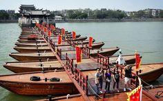 Guangji Bridge, also known as Xiangzi Bridge, is an ancient bridge across the Han River in Chaozhou, Guangdong province, China.