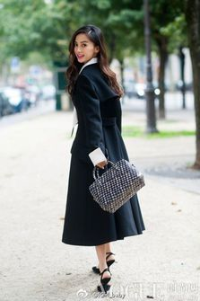 Angelababy Street Style