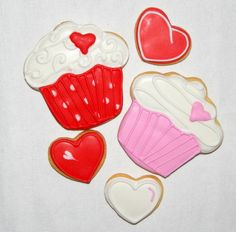 Valentinstag Butter, Cookies, Velentine Day, Random Stuff, Cookie Recipes, Figurine, Crack Crackers, Biscuits, Preserves