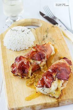 ^^ => Pechugas de pollo a la italiana. Receta