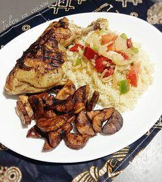 Attiéké poulet braisé - Tabou En Cuisine