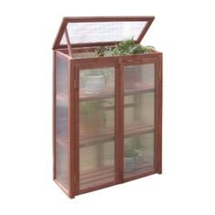 Found it at Wayfair - 2.5 Ft. W x 1.5 Ft. D Plastic Greenhouse