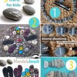 Stone crafts for kids Games For Small Kids, Math For Kids, Diy For Kids, Crafts For Kids, Diy Paper Christmas Tree, Christmas Colors, Kindergarten Activities, Activities For Kids, Painted Rocks Kids