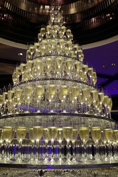 Champagne tower, welcome to my party!