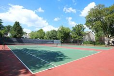 We have lighted tennis courts! Fitness Facilities, Tennis