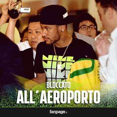 ⚽️ TUTTO CALCIO ⚽️: Problemi per Neymar all'aeroporto di Londra. Il br...