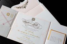 Glamourous Wedding Invitation | Purplest - purplest.ca