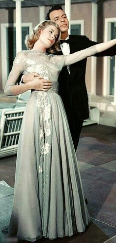 (17) old hollywood | Tumblr Grace Kelly and Frank Sinatra in High Society with Bing Crosby