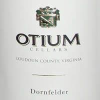 Otium Cellars Loudoun County Dornfelder 2009