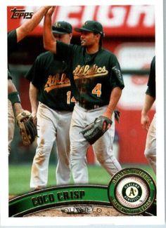 2011 Topps #190 Coco Crisp - Oakland Athletics (Baseball Cards) by Topps. $0.88. 2011 Topps #190 Coco Crisp - Oakland Athletics (Baseball Cards)