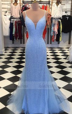 prom dresses mermaid ~ prom dresses & prom dresses long & prom dresses black girls slay & prom dresses 2020 & prom dresses short & prom dresses two piece & prom dresses blue & prom dresses mermaid Blue Mermaid Prom Dress, Sparkly Prom Dresses, Prom Dresses Two Piece, Backless Prom Dresses, Tulle Prom Dress, Prom Dresses Blue, Mermaid Dresses, Party Dresses, Wedding Dresses