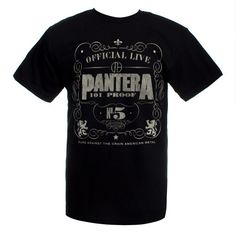 Official Live Pantera 101 Proof