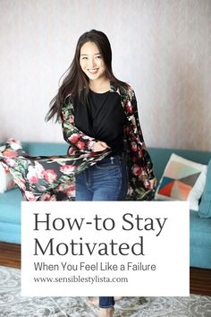 Looking for ways to stay motivated when you're feeling down? Check out Sensible Stylista for her two cents on how to keep a positive mindset when you're feeling low. #inspirationalquotes #inspiration #motivationalquotes #motivation Positive Mental Health, Mental Health Matters, Learning To Love Yourself, How To Better Yourself, When Youre Feeling Down, How Are You Feeling, How To Do Calligraphy, Feeling Defeated, Feeling Like A Failure