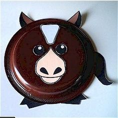 Paper Plate Horse Craft being made this Saturday July 28th. & Paper Plate Horse Craft | paper plates | paper plates | Pinterest ...