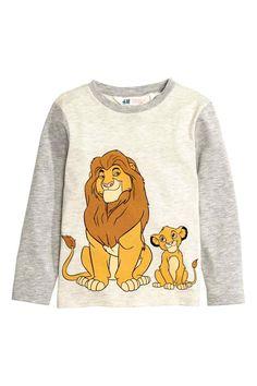 Long-sleeved T-shirt | H&M