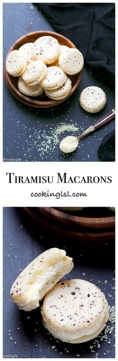 Tiramisu Macarons Recipe