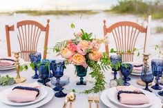 A Boho Beach Wedding