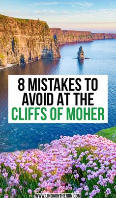 Are you planning to visit the Cliffs of Moher Ireland? This guide will tell you what you should avoid when visiting the spectacular Cliffs of Moher Ireland. Ireland Travel Guide, Europe Travel Tips, Travel Advice, Travel Guides, Travel Destinations, Travel Hacks, Cliffs Of Moher, Ireland Vacation, England And Scotland