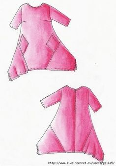 0862d61c1c0059e1feb5d41dc553a6a9 (421x600, 98Kb) clothing patterns for those who can draft their own patterns
